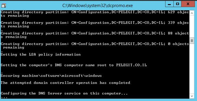 Active Directory AnswerFile  ad