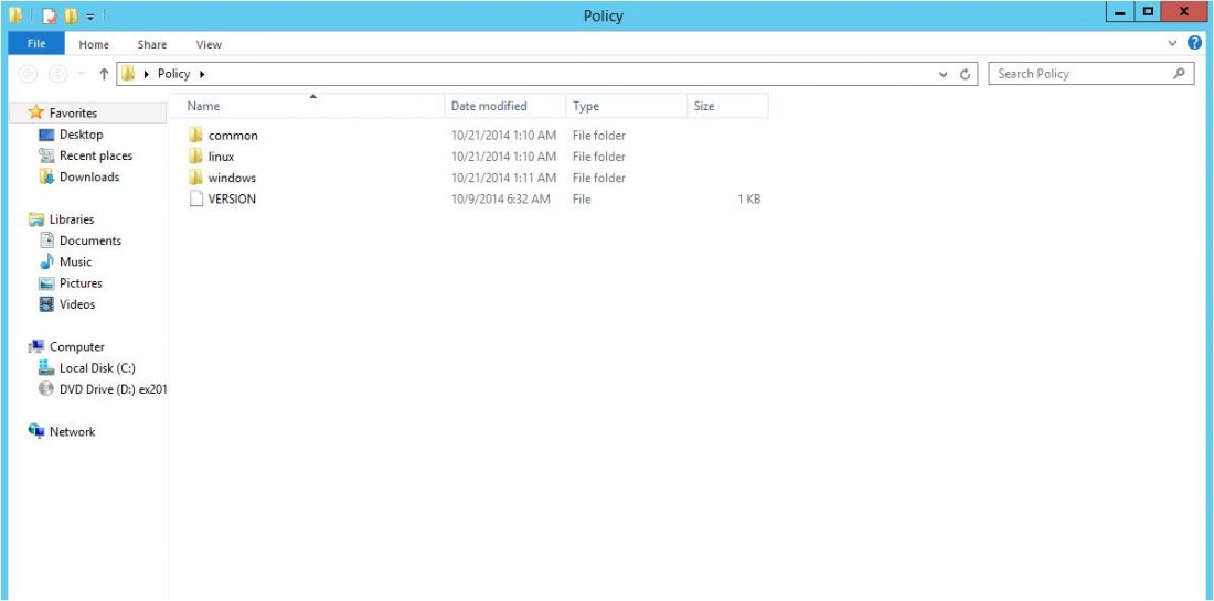 Add ADMX or ADM file to Group Policy 1