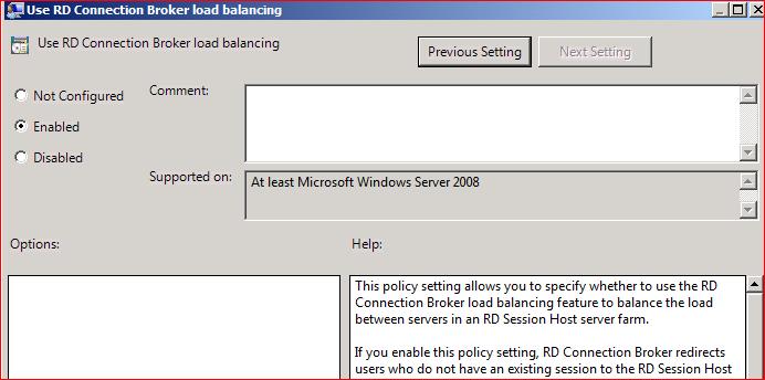 Terminal Server Configure Broker