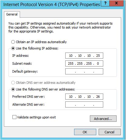 NIC Teaming Windows Server 2012