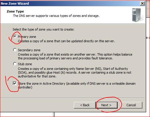 Default server unknown nslookup