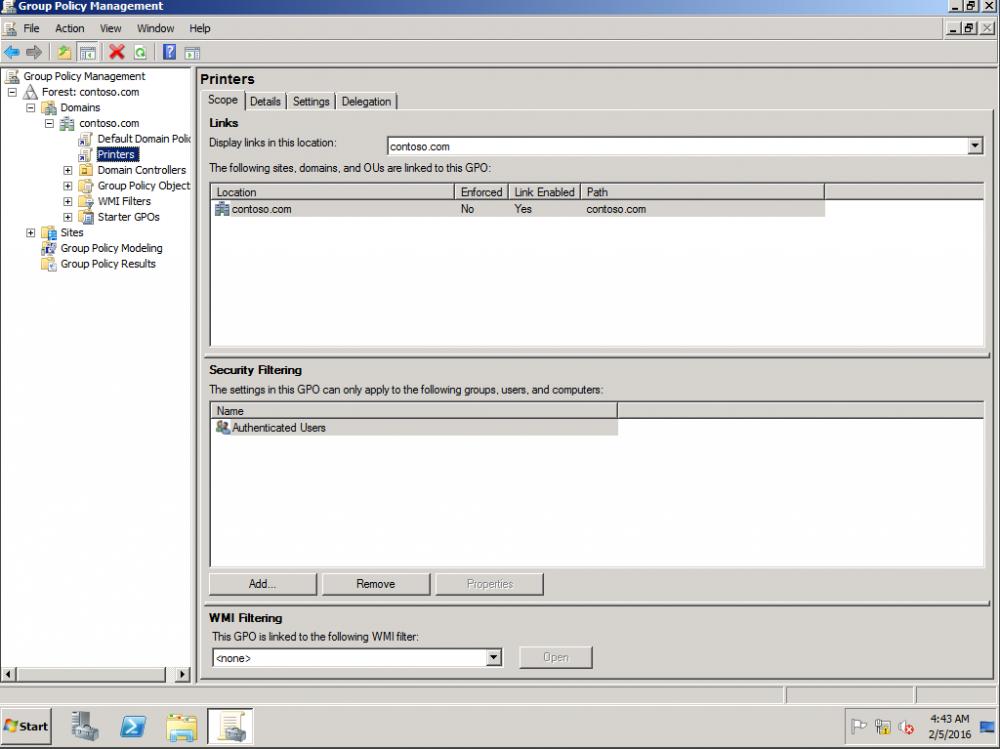 Deploy Printer through GPO to specific IP range
