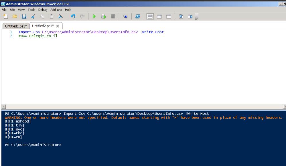 PowerShell – Editing permissions on a file or folder