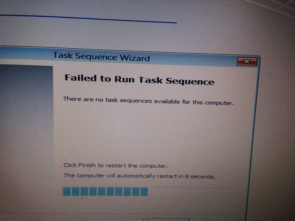 sccm error