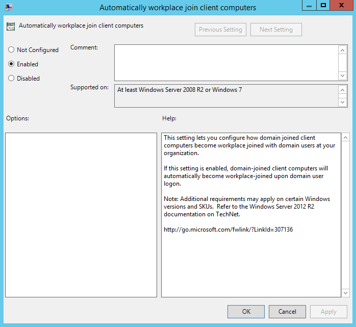 Configure Azure AD Join