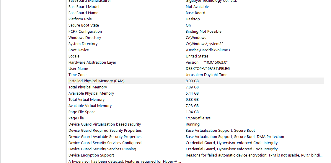 Credential Guard Windows 10