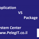 SCCM APPLICATIONS VS PACKAGES