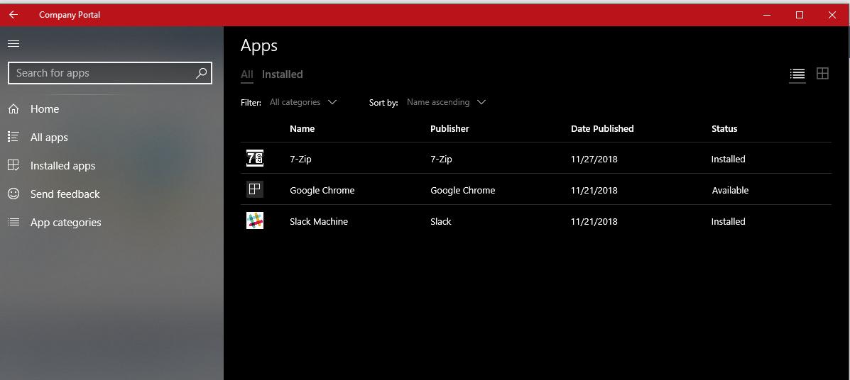 Deploy App Microsoft Itune