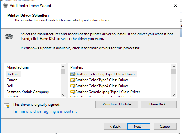 How to Configure Print Driver in Windows Server 4