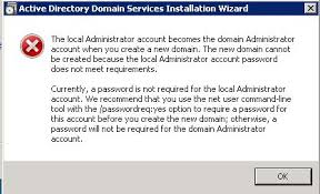 How to fix The local administrator account becomes the domain administrator
