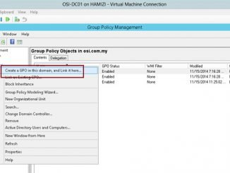 How to install client software from Windows Server 2012 R2 using Group Policy 1