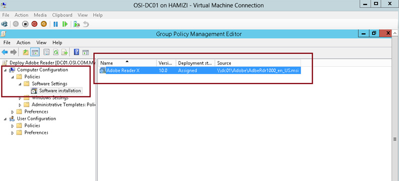 How to install client software from Windows Server 2012 R2 using Group Policy 7