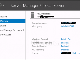 Remote management on Windows Server 2012 with Remote Management Service 1