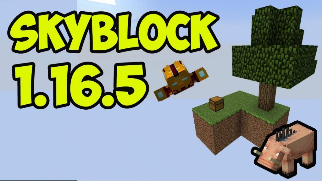 SkyBlock Map 1.16.5 - Mod Minecraft download - Logo