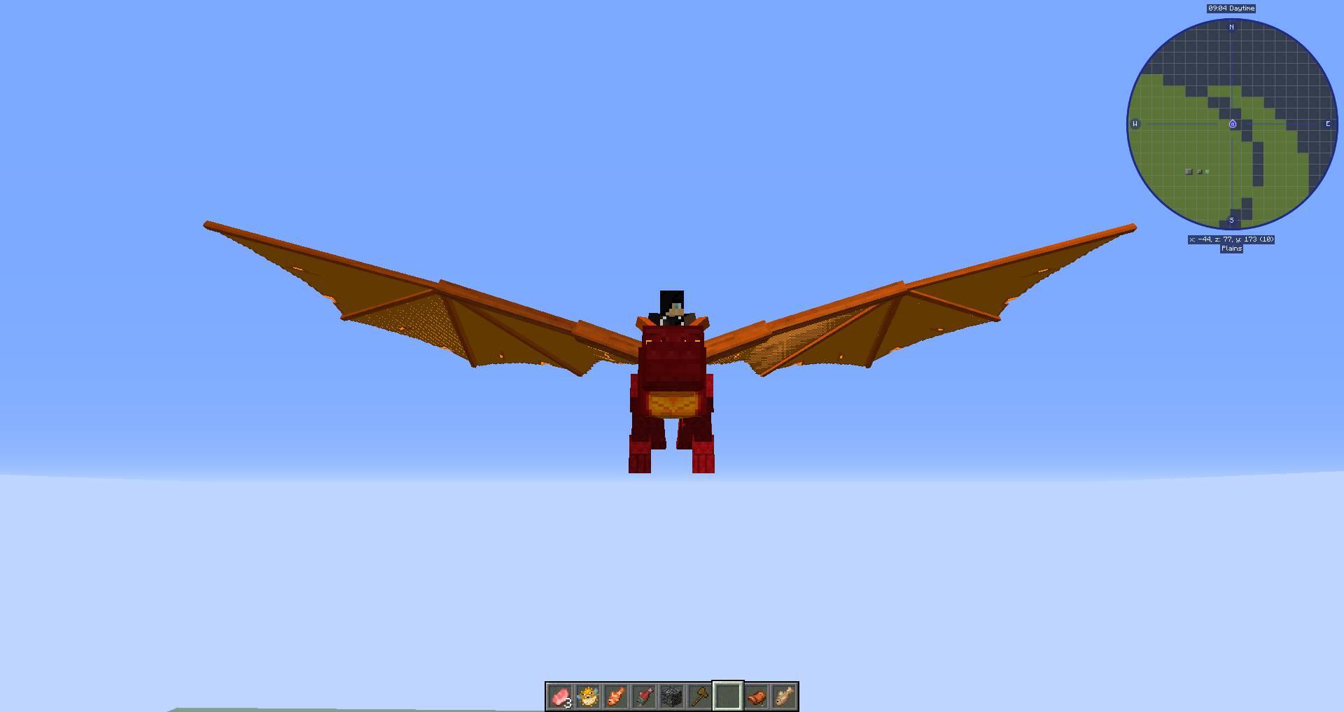 Dragon Mounts Legacy mod for minecraft 23