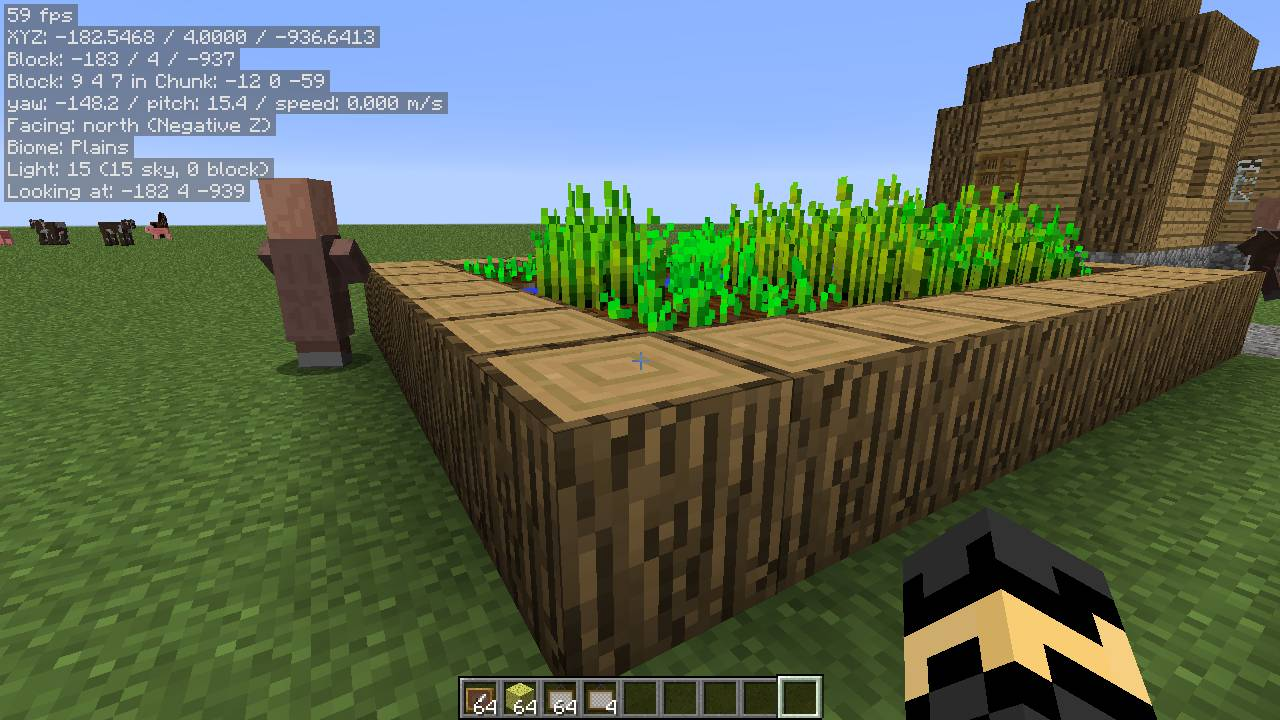 MiniHUD mod for minecraft 22