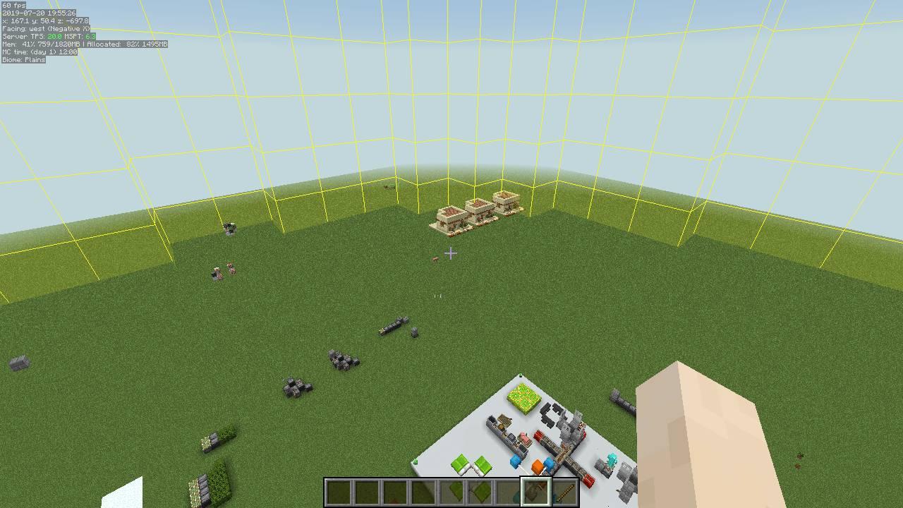 MiniHUD mod for minecraft 27
