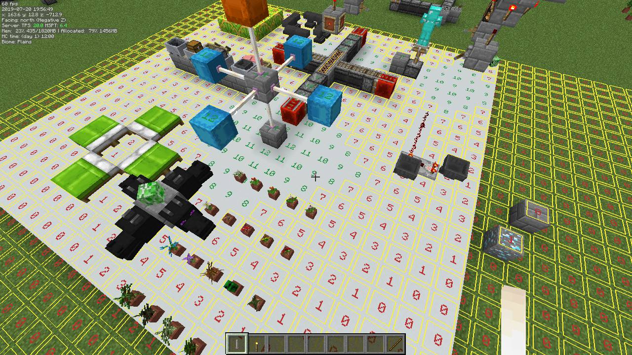MiniHUD mod for minecraft 30