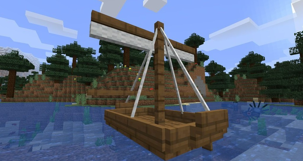 small ships mod 1 16 5 boat travel mod minecraft download