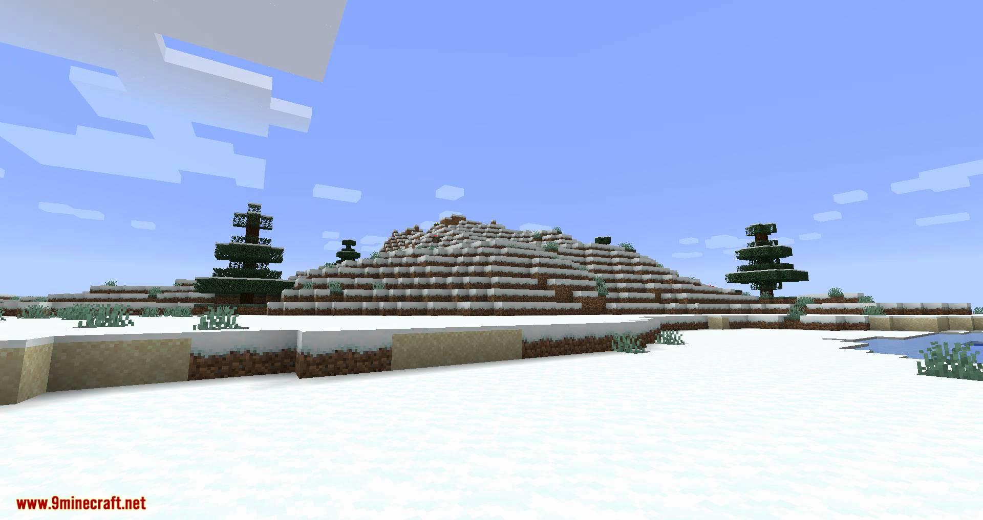 Snowballs Freeze Mobs mod for minecraft 02
