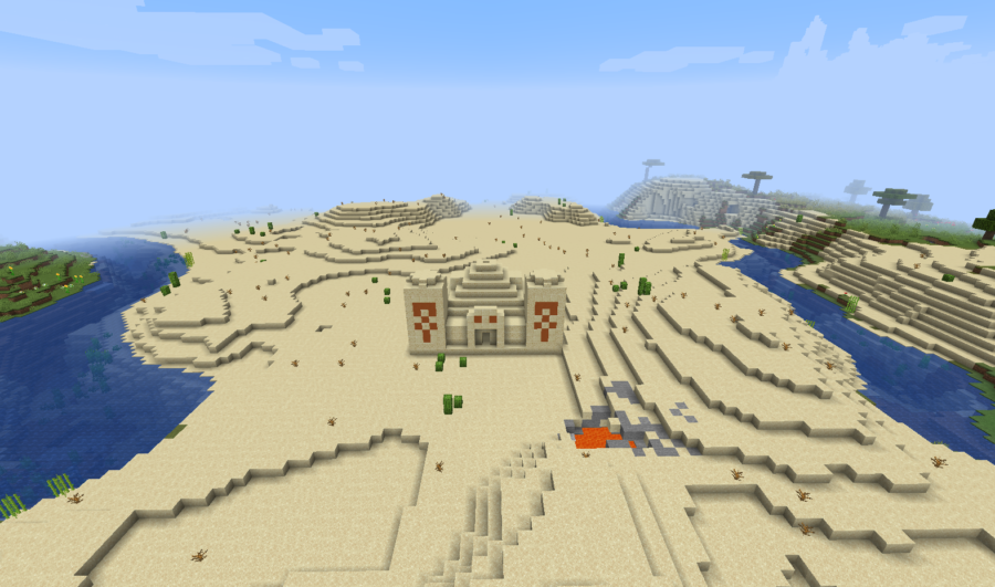The Desert Kingdom - Top 8 Best Java Seeds 1.16.5 for Minecraft in 2021