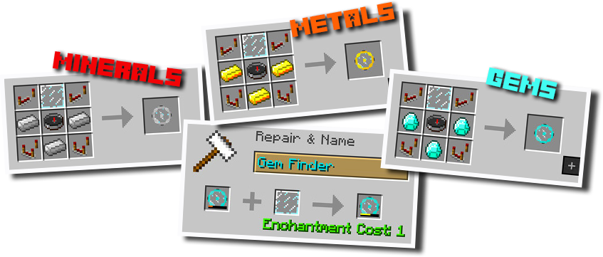 Advanced Finders Mod - Logo
