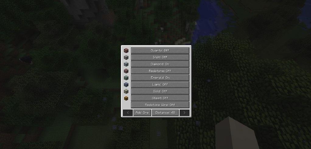 Advanced XRay Mod 1.17   1.16.5   1.15.2 - Mod Minecraft download - Screenshot 2