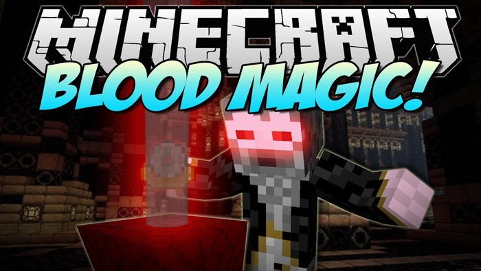 Blood Magic Mod 1.16.5   1.15.2 - Mod Minecraft download - Logo