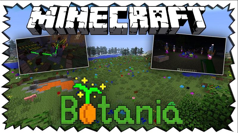 Botania Mod 1.16.5 | 1.15.2 - Mod Minecraft download - logo
