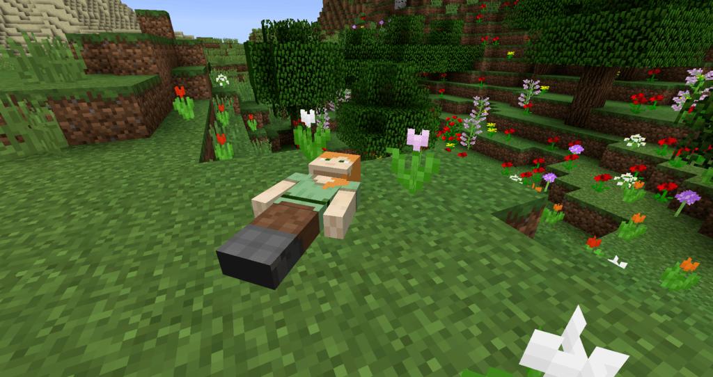 Corpse Mod 1.16.5 | 1.15.2 - Mod Minecraft download - Screenshot 1