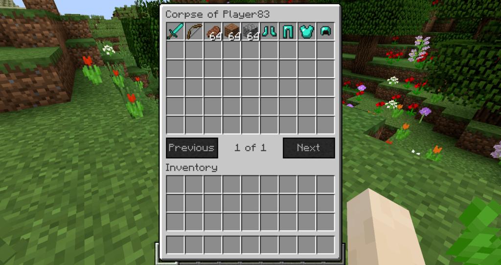 Corpse Mod 1.16.5 | 1.15.2 - Mod Minecraft download - Screenshot 2