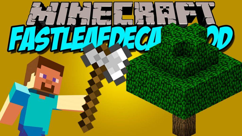 Fast Leaf Decay Mod 1.16.5 | 1.15.2 - Mod Minecraft download - Logo