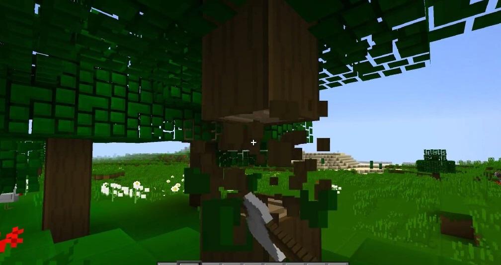 Fast Leaf Decay Mod 1.16.5 | 1.15.2 - Mod Minecraft download - Screenshot 2