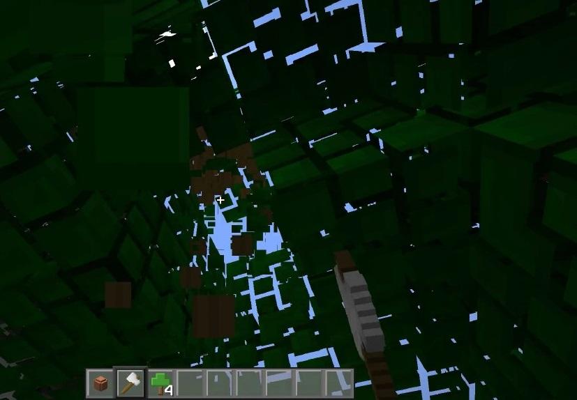 Fast Leaf Decay Mod 1.16.5 | 1.15.2 - Mod Minecraft download - Screenshot 3