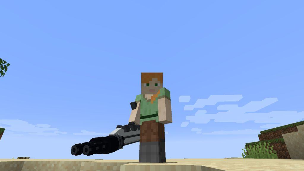 Flytras Gun Mod 1.16.5 5
