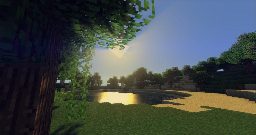 GLSL Shaders Mod for Minecraft 1.16.5 - Screenshot 1
