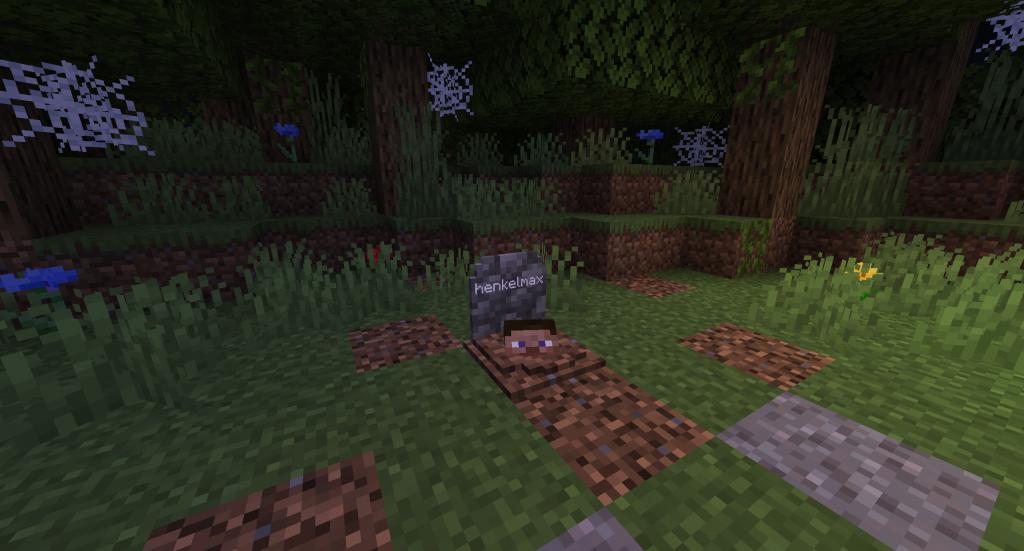 GraveStone Mod 1.16.5 | 1.15.2 - Mod Minecraft download