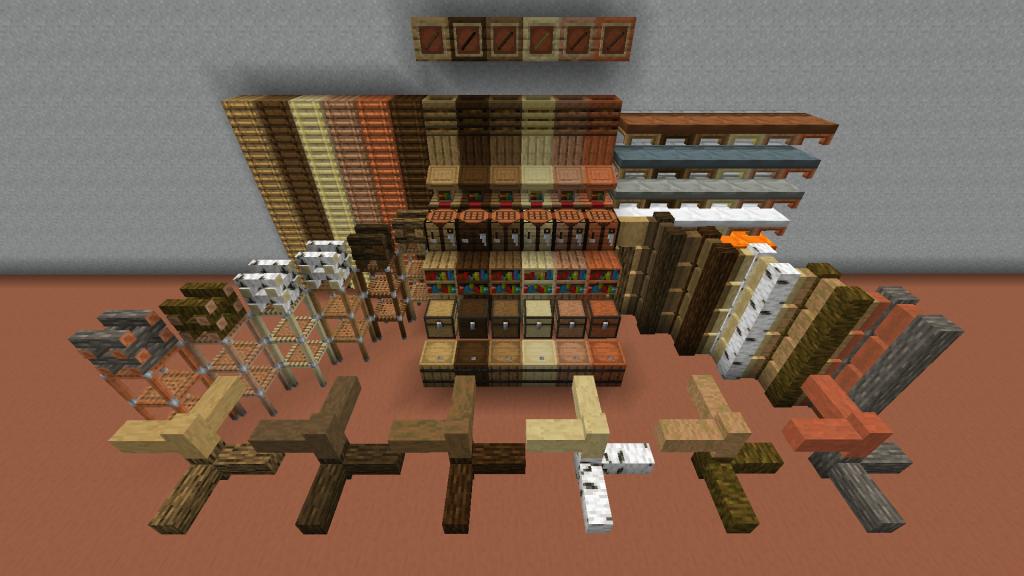I Like Wood Mod 1.16.5 | 1.15.2 - Screenshot 2