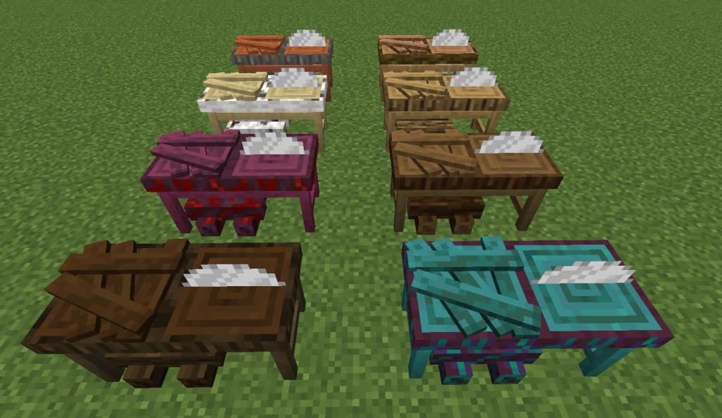 I Like Wood Mod 1.16.5 | 1.15.2 - Screenshot 4