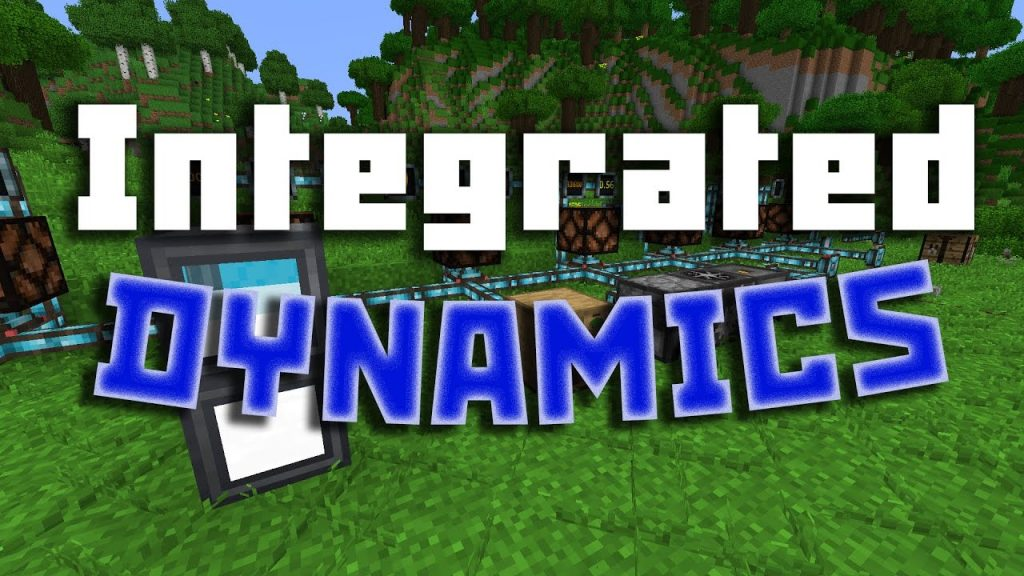 Integrated Dynamics Mod 1.16.5 | 1.15.2 - Mod Minecraft download - logo
