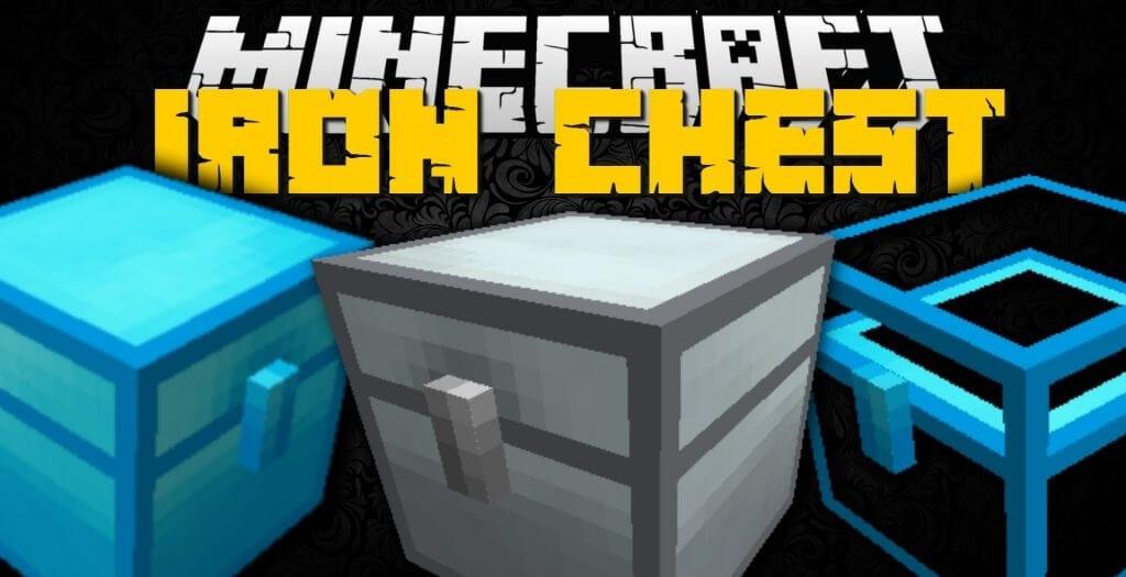Iron Chests Mod 1.16.5   1.15.2 - Logo