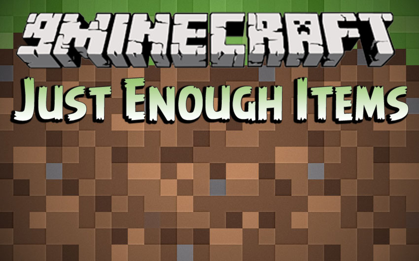 Just Enough Items Mod 1.16.5 | 1.15.2 - Mod Minecraft download - Logo