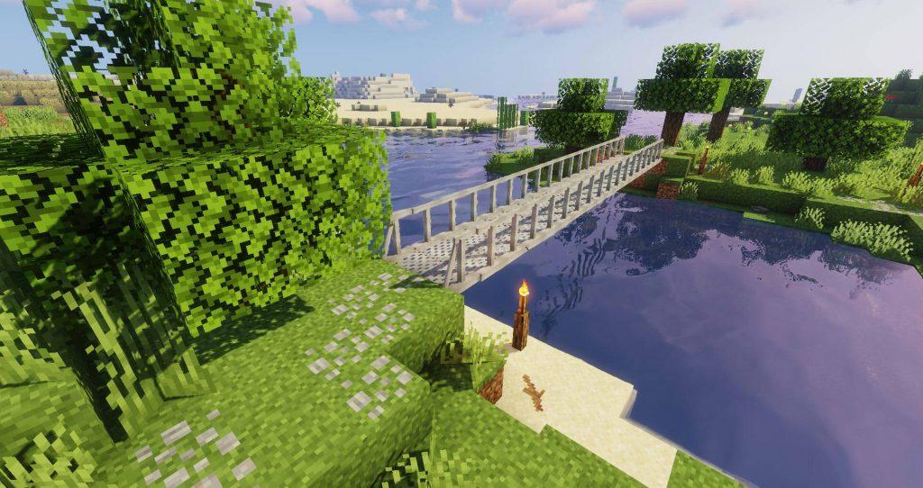 Macaw's Bridges Mod 1.16.5 | 1.15.2 - Mod Minecraft download - Screenshot 1