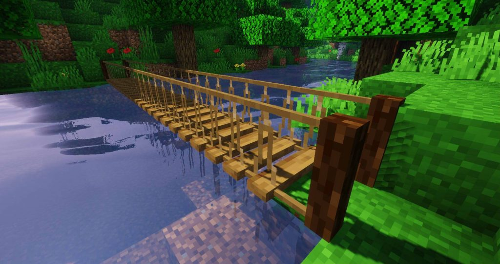 Macaw's Bridges Mod 1.16.5 | 1.15.2 - Mod Minecraft download - Screenshot 2