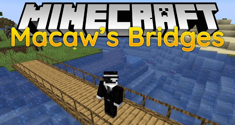 Macaw's Bridges Mod 1.16.5 | 1.15.2 - Mod Minecraft download - Logo
