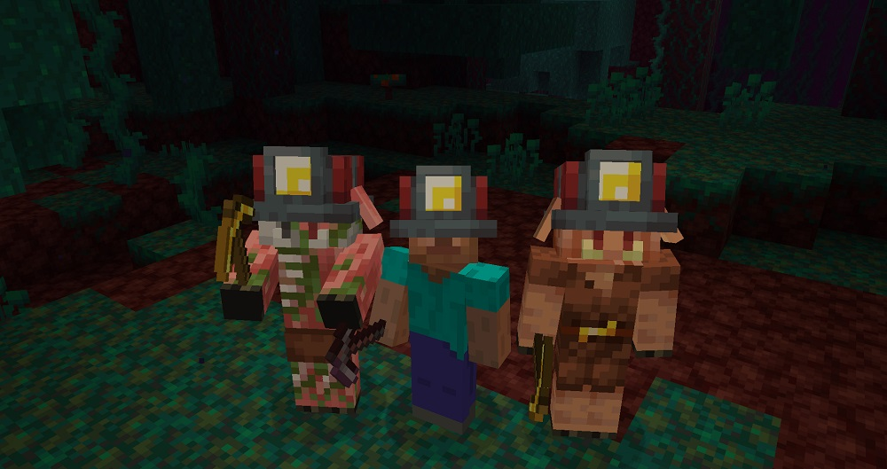 Miner's Helmet Mod 1.16.5 | 1.15.2 - Mod Minecraft download - screenshot 1