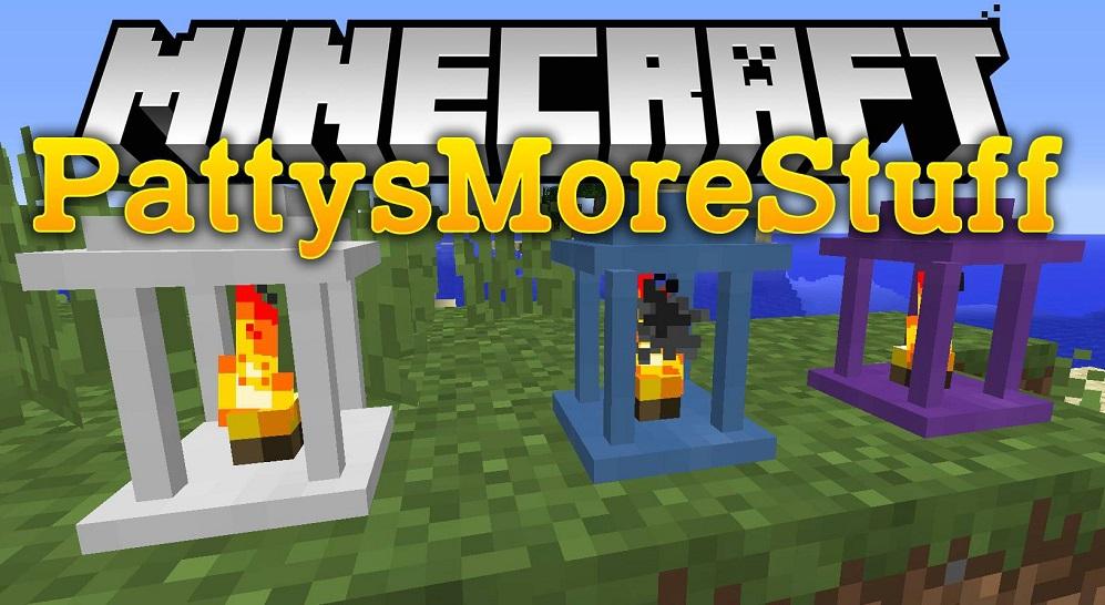PattysMoreStuff Mod 1.16.5 | 1.15.2 - Mod Minecraft download - Logo