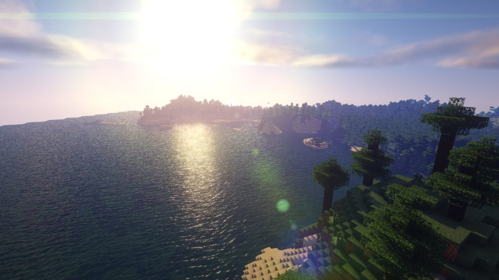 Sora Shaders for Minecraft 1.16.5 | Minecraft 1.16.5 Shaders - Screenshot 2