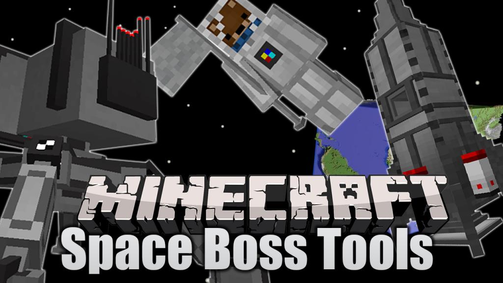 Space-BossTools Mod 1.16.5 | 1.15.2  - Logo
