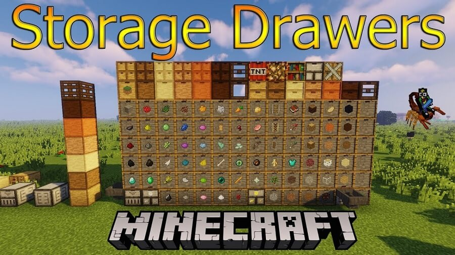 Storage Drawers Mod 1.16.5   1.15.2 - Mod Minecraft download - Logo
